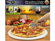 """Finelife Products Pizza Deco Stone (15"""" Diameter)"""