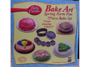 Betty Crocker Bake Art Spring Form Pan- 7 Piece Set