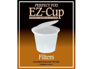Ez-cup Filter Papers By Perfect Pod- 4 Pack (200 Filters)