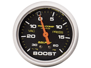 Auto Meter Pro-Comp Liquid-Filled Mechanical Vacuum/Boost Gauge
