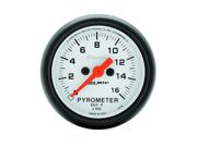 Auto Meter Phantom Electric Pyrometer Gauge Kit