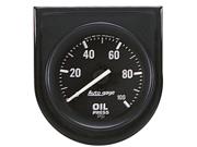 Auto Meter Autogage Oil Pressure Gauge Panel