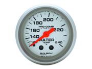 Auto Meter Ultra-Lite Mechanical Water Temperature Gauge