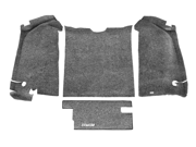 Bed Rug BRYJ87R Premium Jeep CJ Floor Liners Rear Tailgate and Cargo