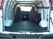 BedRug VTRG96X VanTred&#59; Virgin Rubber Cargo Mat