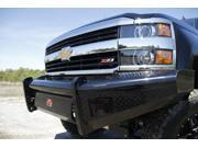 Fab Fours CH14-S3061-1 Black Steel&#59; Front Ranch Bumper