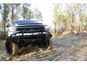 Fab Fours TT14-K2862-1 Black Steel&#59; Front Bumper Fits 14-15 Tundra