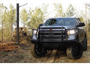 Fab Fours TT14-K2860-1 Black Steel&#59; Front Bumper Fits 14-15 Tundra