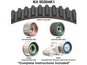 Dayco 95304K1 Engine Timing Belt Kit - Timing Belt Kit Without Seals
