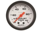 Auto Meter 5726 Phantom Mechanical Exhaust Pressure Gauge