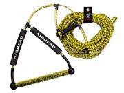 Kwik Tek  AHWR-1 Wakeboard Rope  Deluxe  Yellow