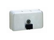 Bobrick Classicseries Surface-Mounted Liquid Soap Dispenser, Horizonta
