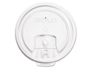 Hot Cup Lids, White, 1000/Carton