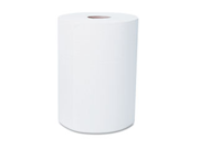"KIMBERLY-CLARK PROFESSIONAL* 12388 SCOTT SLIMROLL Hard Roll Towels, 8"" x 580', White, Roll, 6/Carton"