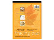 Art1St Parchment Tracing Paper, 9 X 12, White, 50 Sheets
