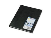 NotePro Undated Daily Planner, 11 x 8-1/2, Black