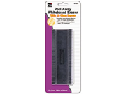 "Peel-Away Dry Erase Board Eraser W/12 Disposable Pads, Felt, 5"""