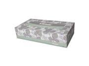 Kleenex Softblend Facial Tissue, 2-Ply, White, 125/Box