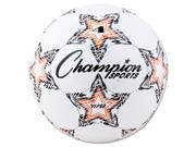 VIPER Soccer Ball, Size 4, White