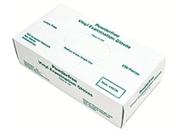 Memphis Glove 127-5010L Large 5-Mil. Disposablevinyl Glove Medical Gra