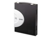 Locking Key Cabinet, 32-Key, Steel, Black, 11 1/2 x 3 x 14 1/2
