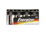Energizer EVE522FP4 Alkaline Energizer Battery- 9 Volt- 4-PK