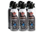 Falcon Dust-Off DPSXL6 XL Compressed Gas Duster Moisture-free - Black