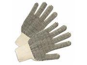 Anchor Regular Weight String Knit Glove W/Black