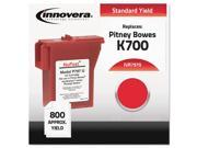 Compatible With 797-0 Postage Meter, 800 Page-Yield, Red