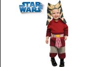 Star Wars Padawan Baby Jedi Ahsoka Costume Infant 6-12m