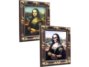 Lenticular 18x22 3d Mona Lisa Changing Skeleton Picture