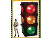 New Large Blinking 3-Sided Traffic Light Signal Lamp