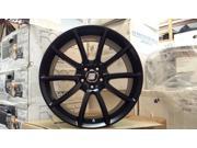 BMC Black Mamba Wheels 20x9 and 20x10 Satin Black Finish 5x114.3 2005-2014 Ford Mustang
