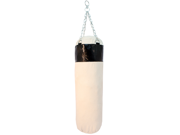 Black Boxing Canvas Punching Bag With Chains Heavy Duty New