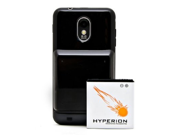 Hyperion Sprint Samsung Epic Touch 4G 3800mAh Extended Battery + White Cover