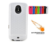 Hyperion Samsung Galaxy Nexus Extended Battery HoneyComb TPU Case White