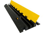 2-Channel Cable Protector Drop-Over Modular Straight Section