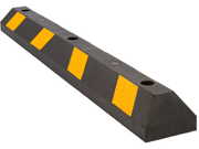 """48"""" Rubber Parking Block Curb for Lot or Driveway"""