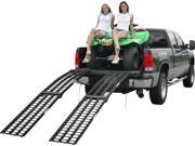 """108"""" Black Widow Extra Wide Off-Road ATV Loading Ramps"""
