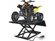 Black Widow ATV Lift Table PRO 1,500 lb Air-Over-Hydraulic