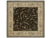 Nourison Hand-tufted Versailles Palace Olive Rug (8' x 8') Square
