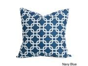 Links Large Pillow - Blue