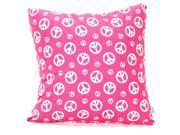Peace Large Pillow