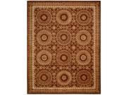 Nourison Hand-tufted Versailles Palace Brick/ Ivory Rug (3'6 x 5'6)