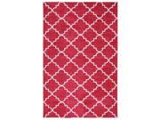 Fancy Trellis Hot Pink Rug (5' x 8')