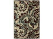 Capital Elements Ivory Area Rug (5'3 x 7'10)