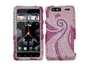INSTEN Diamante Phone Case Cover for Motorola XT912M Droid Razr Maxx