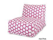 Large Polka Dot Bean Bag Chair Lounger