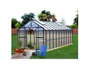 Monticello Black Aluminum Premium Greenhouse