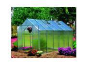 Monticello 8-foot x 12-foot Aluminum Premium Greenhouse